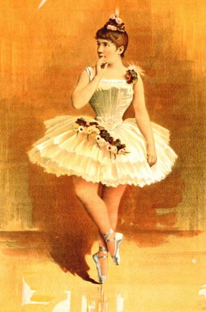 Vintage Ballerina Free Stock Photo Public Domain Pictures
