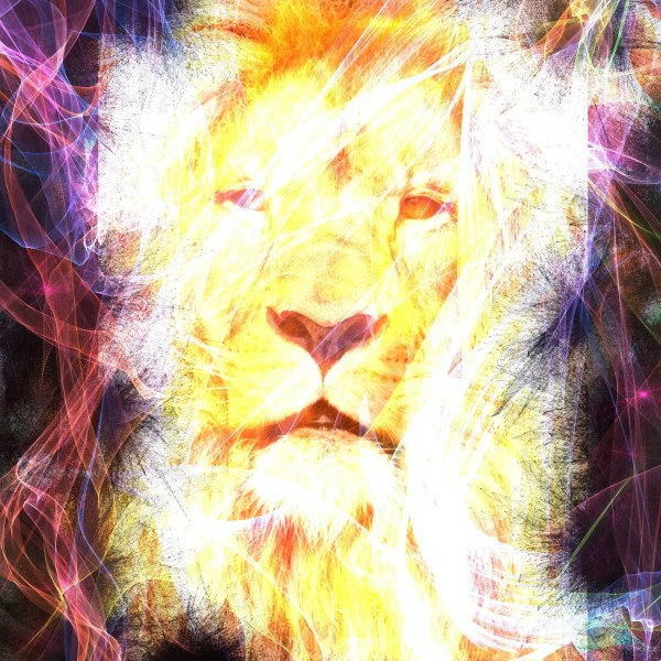 Abstract Lion Free Stock - Public Domain