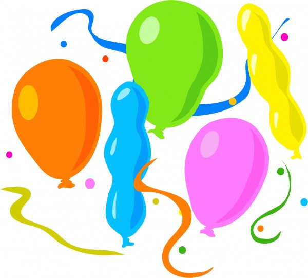 birthday party balloons free stock