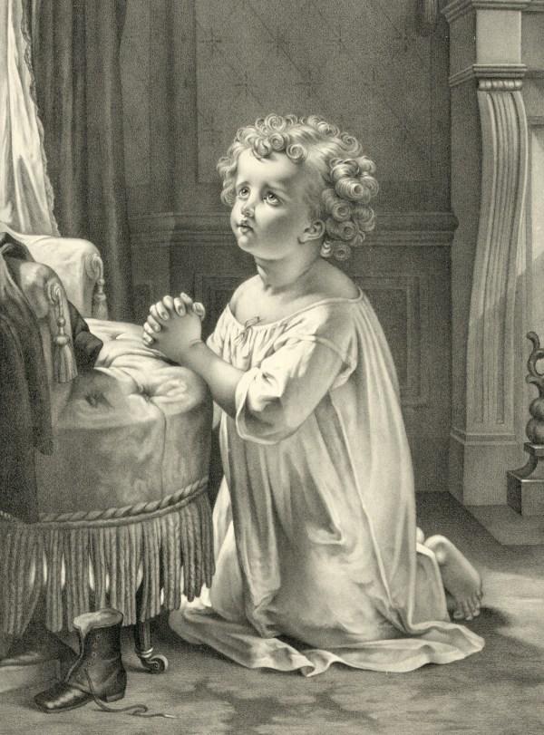 Child' Prayer Free Stock - Public Domain