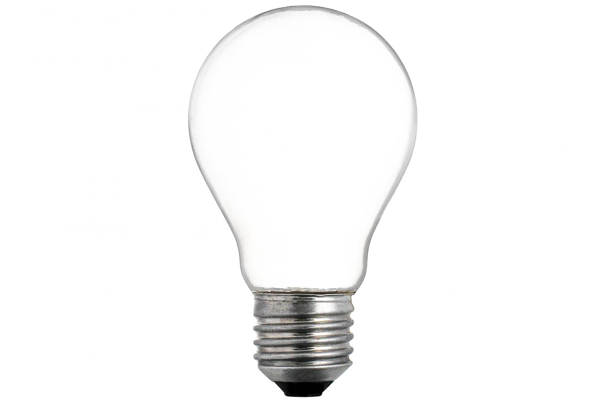 Empty Electric Light Bulb Free Stock Photo