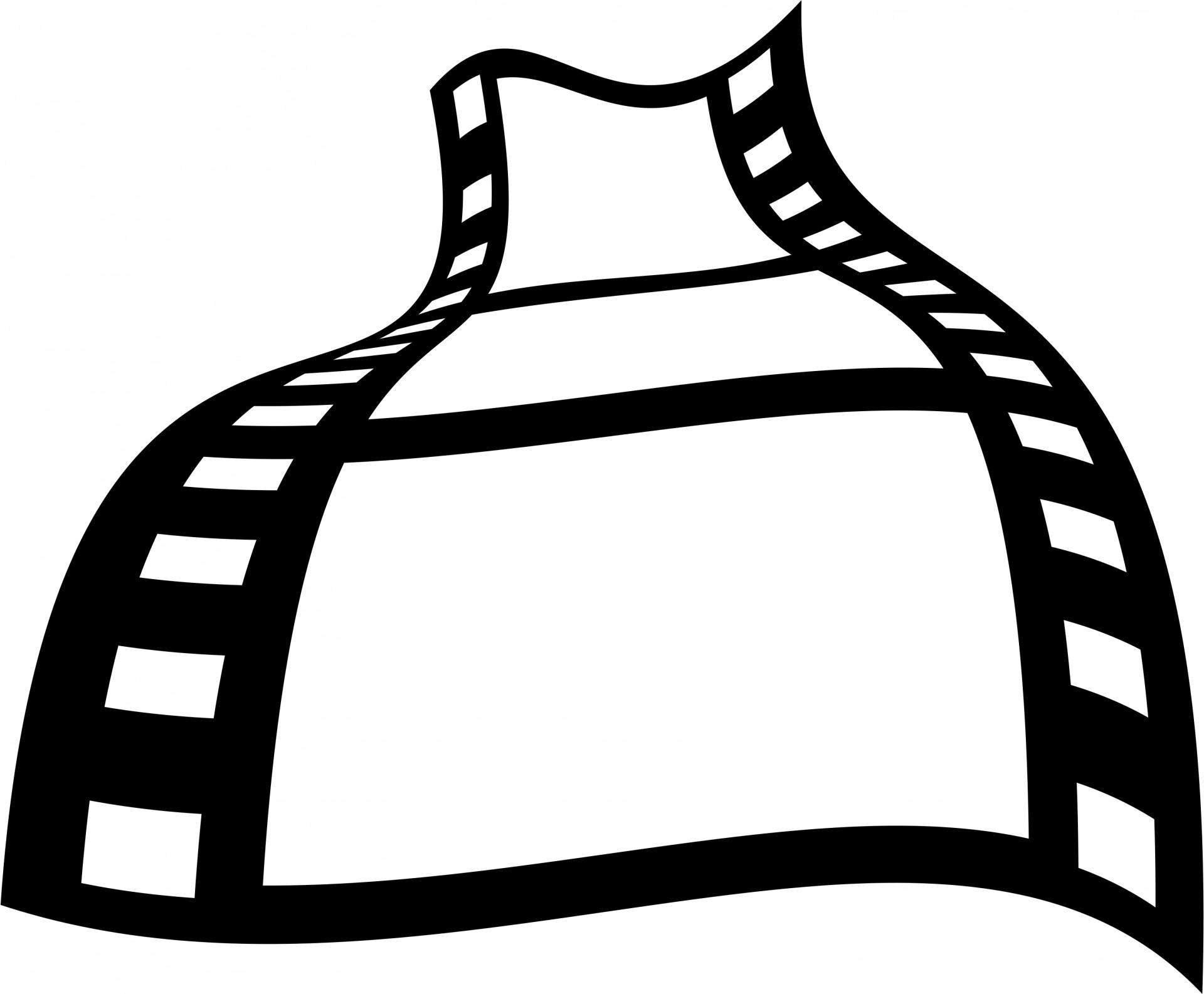 Film Strip Icon Free Stock Photo