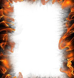 flaming paper border free stock photo public domain pictures  [ 1371 x 1920 Pixel ]