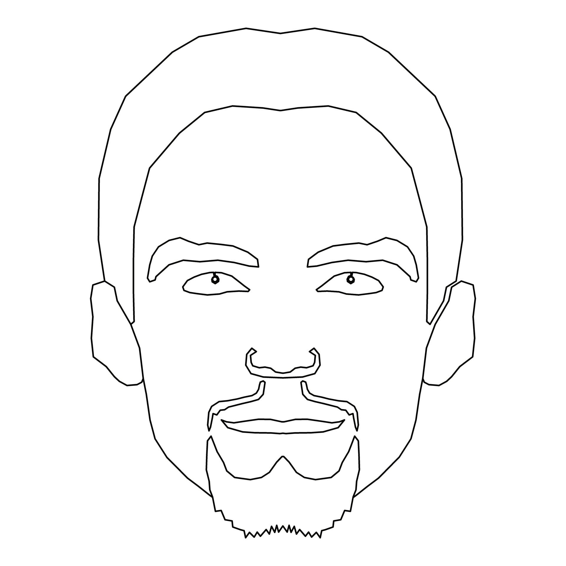 Man Face Free Stock Photo