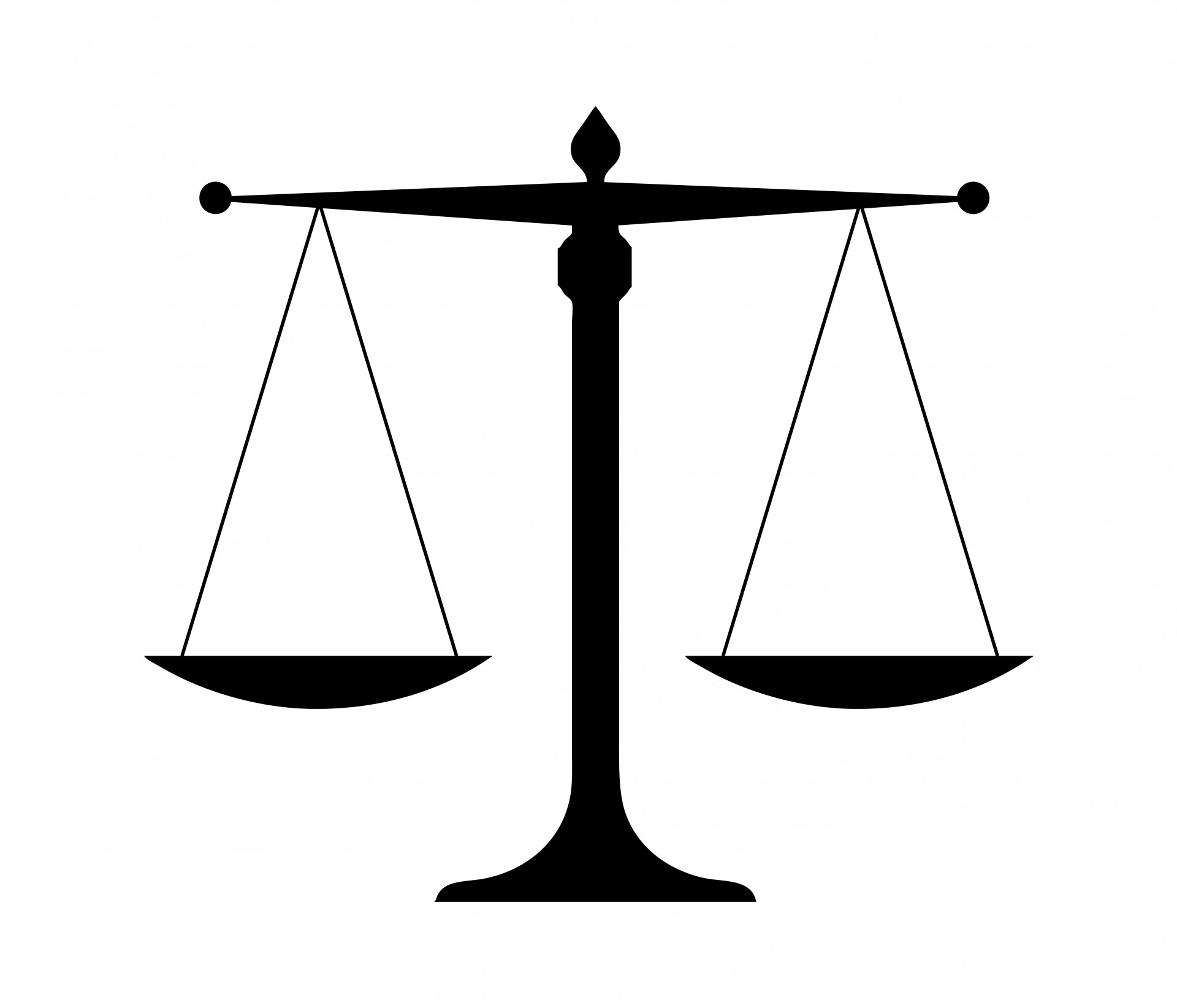 Scales Of Justice Free Stock Photo