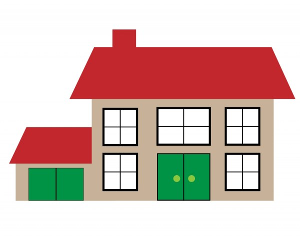 House Illustration Clipart Free Stock - Public
