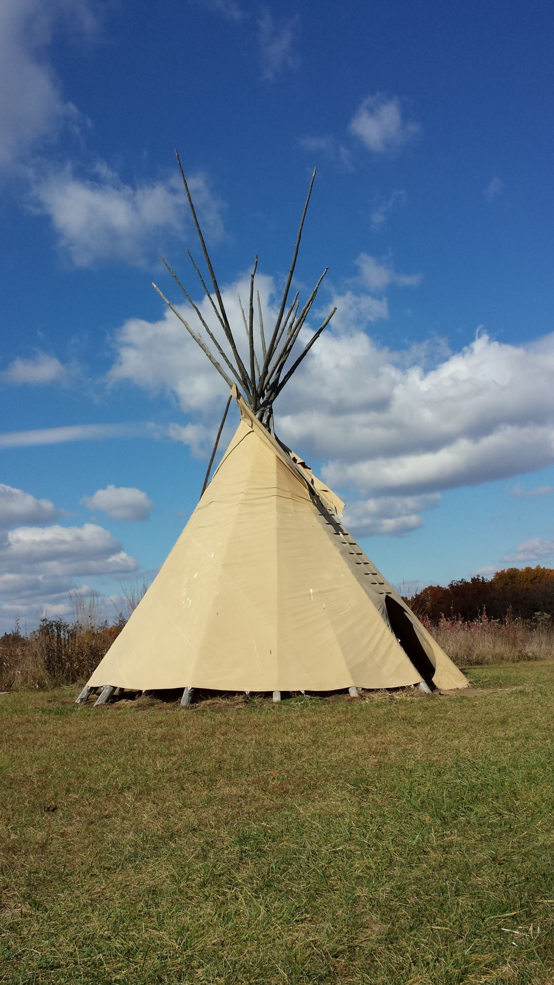 Plains Indians Teepee Tipi Free Stock Photo