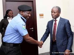 Osibanjo and IGP Idris
