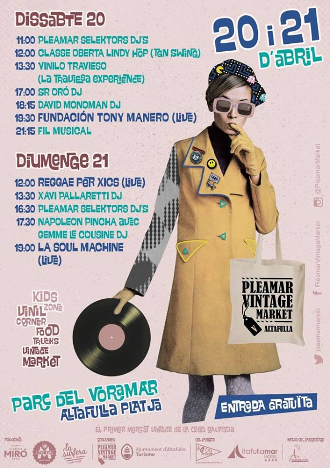 Pleamar vintage market 2019 - Públic familiar