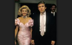 Donald and Ivana Trump in the 80's