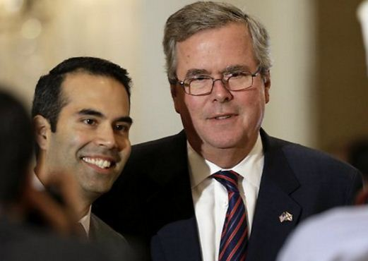 """Darkie"" George P. and Big White Daddy Jeb Bush"