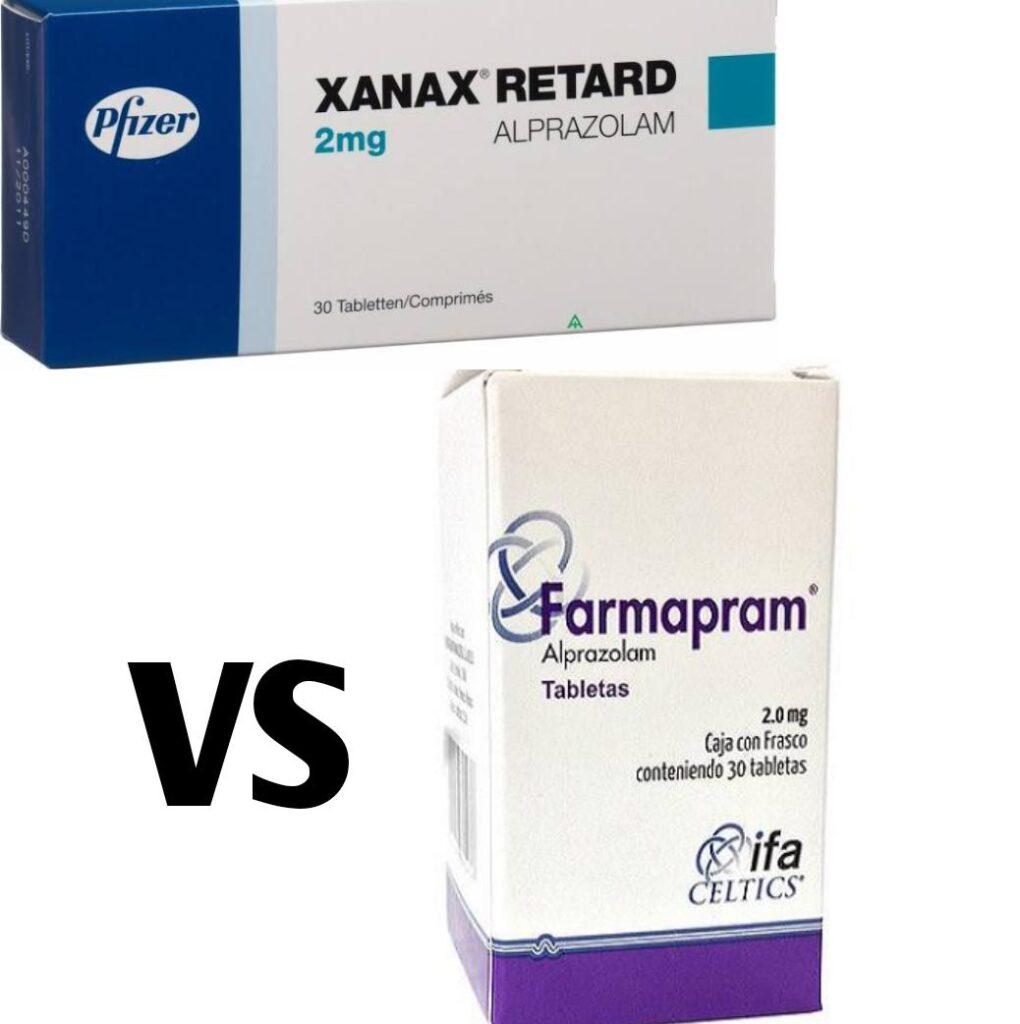 Difference Between Xanax 2mg Vs Farmapram 2mg pill ...