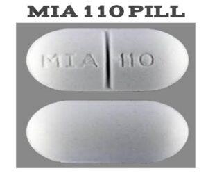 MIA 110 Pill | Public Health