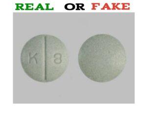 K8 Green Pill fake | Public Health