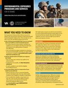 Environmental Health Registry Programs for Veterans