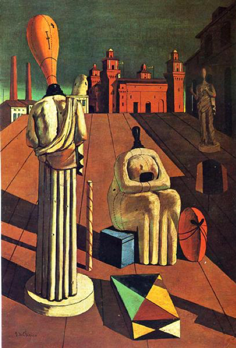 The Disquieting Muses painting by Giorgio de Chirico