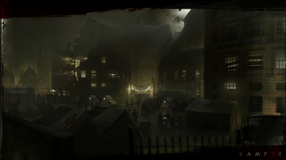Image of vampyr village scene