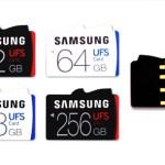 Samsung y sus primeras tarjetas de memoria con tecnología UFS: increíblemente más rápidas que MicroSD y hasta 256GB