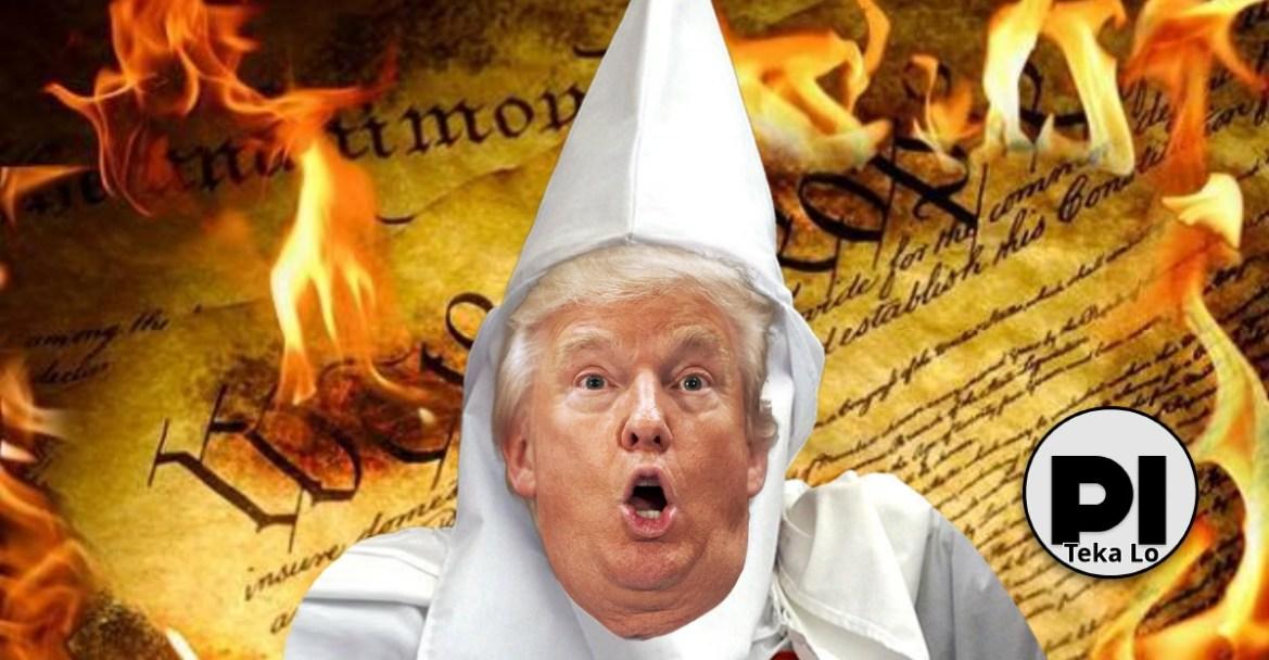 Trump's speech fails the Brandenburg test, just like the KKK did in 1969