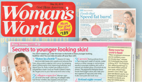 Woman's World publicity helps client reach more than a million women