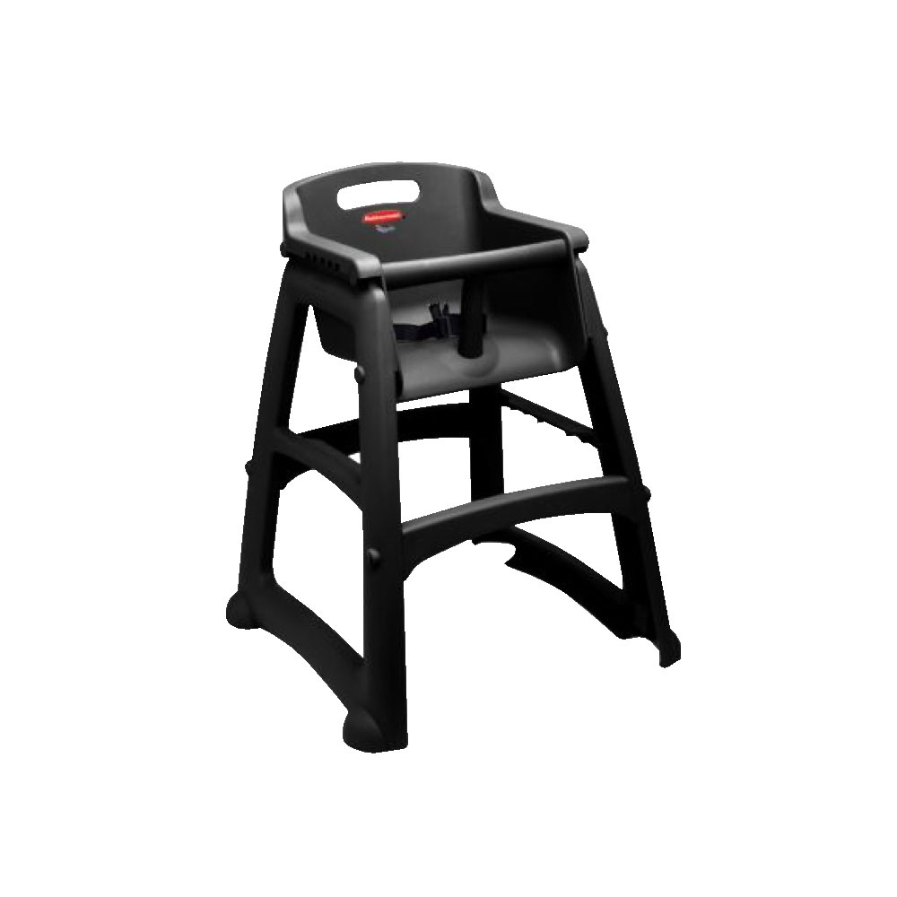 Rubbermaid  Plastic High Chair Assembled  Public