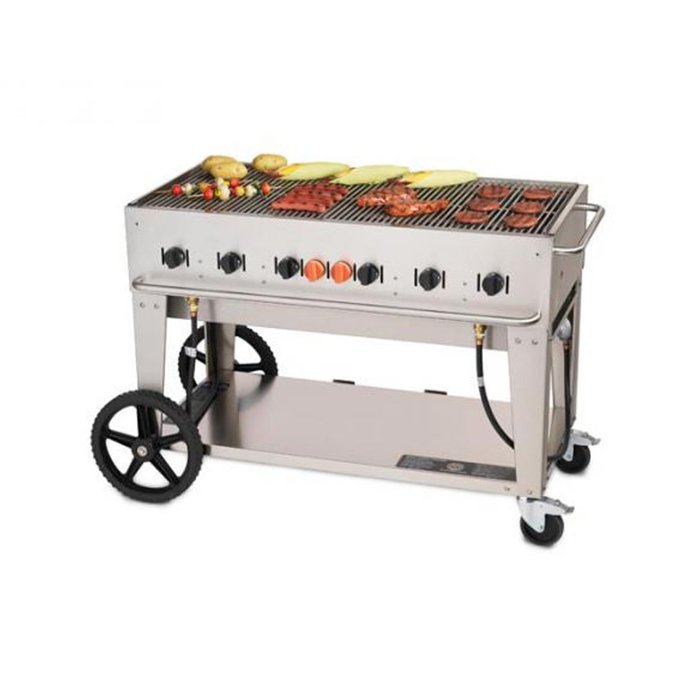 Crown Verity  46 Barbeque Natural Gas Grill  Public Kitchen Supply
