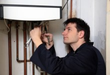 Professional plumber at work requires liability insurance cover