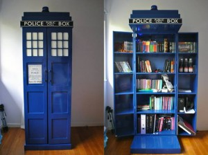 Tardis-like, local libraries combine physical presence and virtual connection. ""