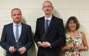 All champions: Russell Allen, John MacNab and Annie Brierley