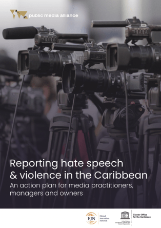 Reporting hate speech front cover