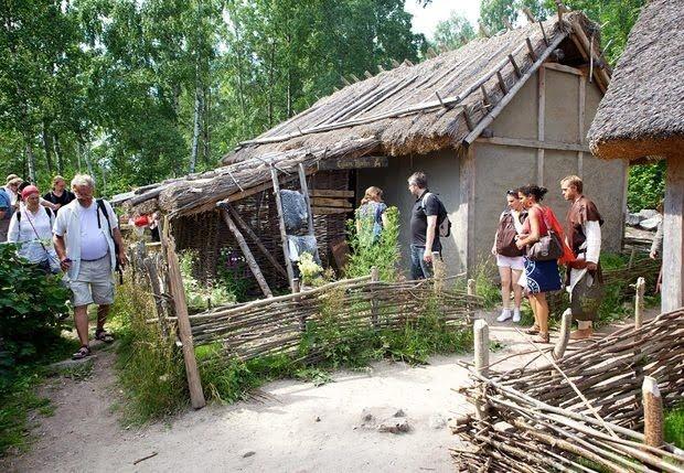 Tourists at Birka