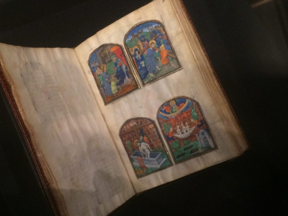 Walters Ms. W.494, Lace Book of Marie de' Medici. 17th-century prayerbook, Including nine miniatures cut and pasted in from a 15th century manuscript.