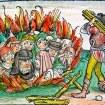 Nuremburg Chronicle Jews Burning
