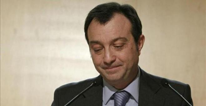 Durante la legislatura de 1991-1995 fue secretario general del Grupo Parlamentario Popular, del que fue portavoz en la siguiente legislatura, tras ser reelegido en los comicios autonómicos de 1995.- EFE