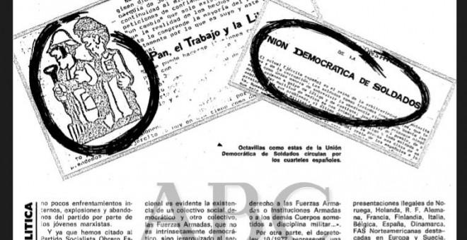 Información sobre la UDS en el ABC del 6 de febrero de 1980.