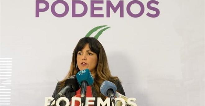 La coordinadora general de Podemos Andalucía, Teresa Rodríguez./ EP