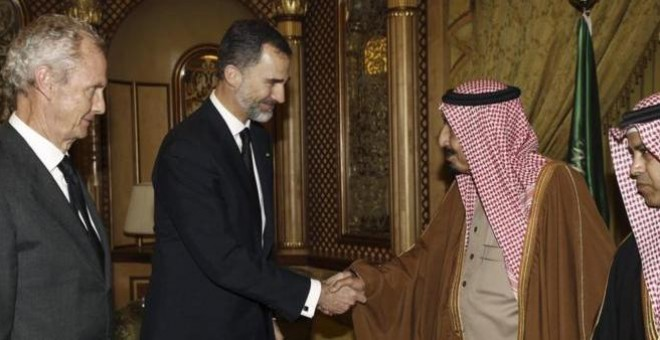 Tercer intento: Felipe VI emprende el sábado la visita a Arabia Saudí suspendida en dos ocasiones. EFE