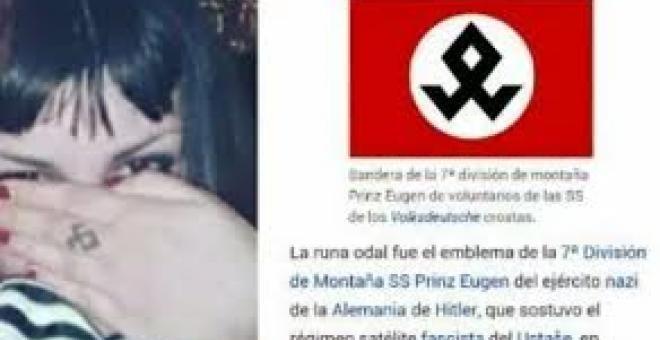 Perfil de Lucía en Facebook, que ella misma ha cerrado tras la agresión LA CRONICA