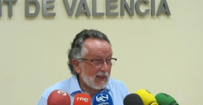 El exvicealcalde de Valencia,Alfonso Grau, en una imagen de archivo. E.P.