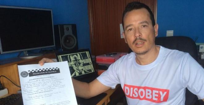 Alfredo Izquierdo ha recibido una propuesta de sanción por 'falta de respeto' a la Policía