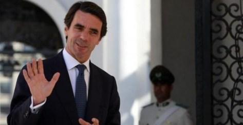 El expresidente del Gobierno español José María Aznar. EFE/Archivo