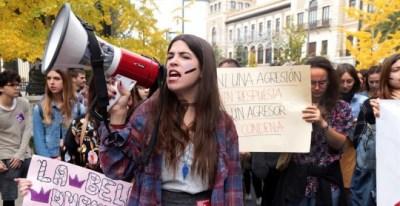Manifestación en Granada por el 25N 2017   EFE