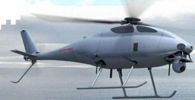 Dron de vigilancia desarrollado por el grupo italiano Leonardo, uno de los líderes del sector.