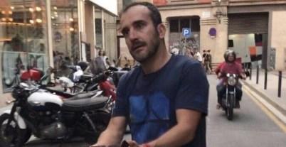 Imatge de l'agressor de Jordi Borràs difosa a les xarxes socials