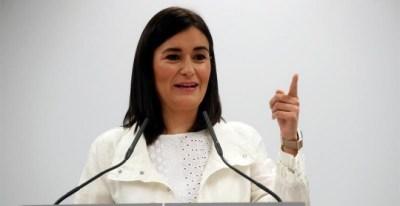 La ministra de Sanidad, Consumo y Bienestar Social, Carmen Montón. - EFE