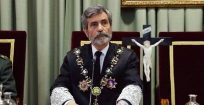 Carlos Lesmes, presidente del Consejo General del Poder Judicial (CGPJ). EFE/Ángel Díaz