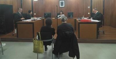 Juicio a Carolina Martínez y Clemente Bernad por revelación de secretos en Pamplona.- EUROPA PRESS