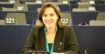 Ana Miranda, eurodiputada del BNG, .