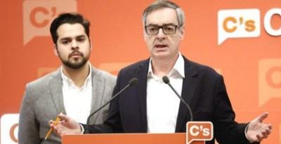 El secretario general de Ciudadanos, José Manuel Villegas, y el diputado Fernando de Páramo, en una imagen de archivo. / EFE