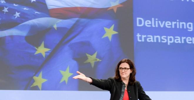 Cecilia Malmström, en una imagen de archivo. EFE